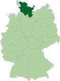 Schleswig-Holstein-Karte