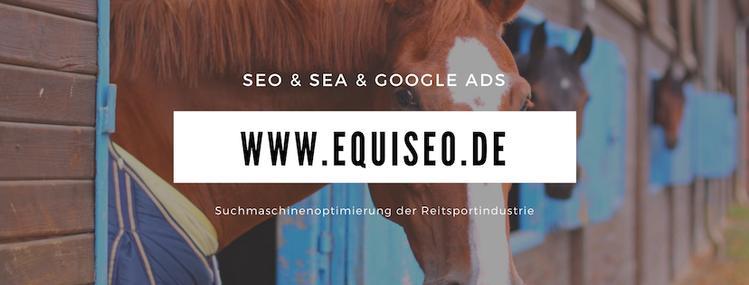 Equiseo Suchmaschinenoptimierung für den Reitsport