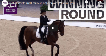 Isabell Werth and Emilio stun the crowd | Winning Round