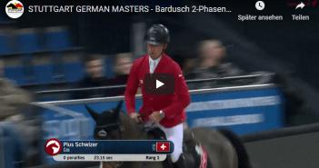 STUTTGART GERMAN MASTERS - Bardusch 2-Phasenspringen - Pius Schwizer