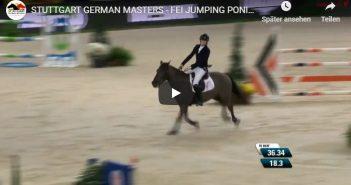 STUTTGART GERMAN MASTERS - FEI JUMPING PONIES TROPHY - John McEntee