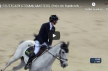 STUTTGART GERMAN MASTERS -Preis der Bardusch GmbH - Felix Haßmann