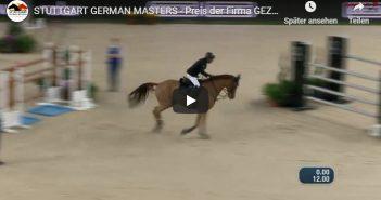 STUTTGART GERMAN MASTERS - Preis der Firma GEZE GmbH - Hans-Dieter Dreher