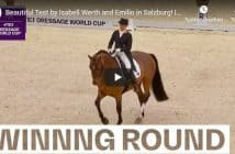 Beautiful Test by Isabell Werth and Emilio in Salzburg! | Winning Round | FEI