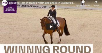 Beautiful Test by Isabell Werth and Emilio in Salzburg! | Winning Round | FEI