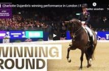 Charlotte Dujardin's winning performance in London | FEI Dressage World Cup