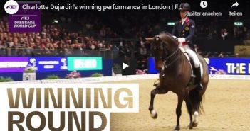 Charlotte Dujardin's winning performance in London   FEI Dressage World Cup