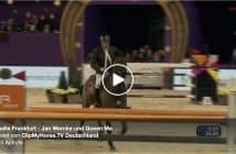 Festhalle Frankfurt - Jan Wernke und Queen Mary gewinnen Großen Preis