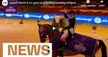 Isabell Werth & Co gave us a thrilling morning of Sport in Salzburg