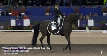 Winning Round | FEI Dressage World Cup - Amsterdam 2020